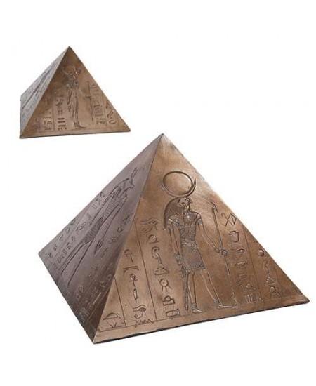 Egyptian Pyramid Memorial Keepsake Urn at Mythic Decor,  Dragon Statues, Angels, Myths & Legend Statues & Home Decor