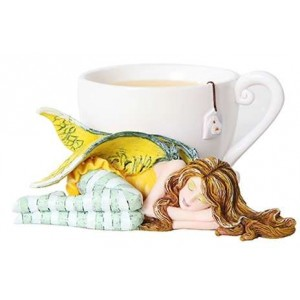Chamomile Tea Fairy by Amy Brown Mythic Decor  Dragon Statues, Angels & Demons, Myths & Legends |Statues & Home Decor