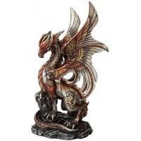 Steampunk Dragon Statue