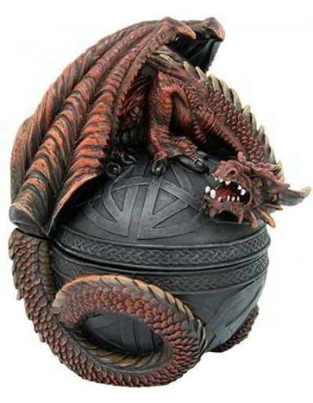 Dragon Guardian Trinket Box Mythic Decor  Dragon Statues, Angels & Demons, Myths & Legends |Statues & Home Decor