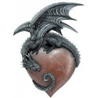 Dragon Heart Gothic Wall Hanging
