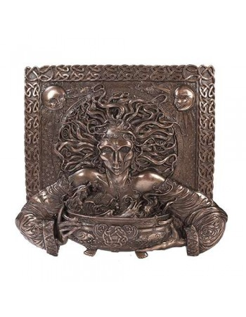 Cerridwen Cauldron Celtic Goddess 9 Inch Bronze Finish Plaque Mythic Decor  Dragon Statues, Angels, Myths & Legend Statues & Home Decor