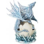 Dragon Hatchling on Crystal Statue at Mythic Decor,  Dragon Statues, Angels & Demons, Myths & Legends |Statues & Home Decor