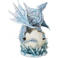 Dragon Hatchling on Crystal Statue