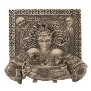 Cerridwen Cauldron Celtic Goddess 9 Inch Stone Finish Plaque Mythic Decor  Dragon Statues, Angels & Demons, Myths & Legends |Statues & Home Decor