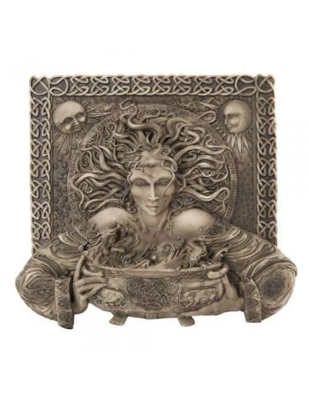 Cerridwen Cauldron Celtic Goddess 9 Inch Stone Finish Plaque Mythic Decor  Dragon Statues, Angels & Demons, Myths & Legends |Statues & Home Decor