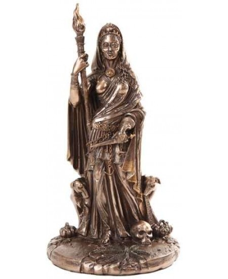 Hecate Greek Goddess of the Crossroads Bronze Resin Statue at Mythic Decor,  Dragon Statues, Angels, Myths & Legend Statues & Home Decor
