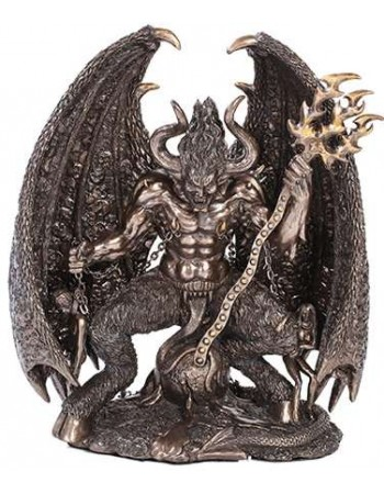 Lucifer Bronze Resin 9 3/4 Inch Statue