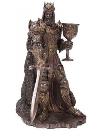 King Arthur, The Legend Bronze Resin Statue Mythic Decor  Dragon Statues, Angels & Demons, Myths & Legends |Statues & Home Decor