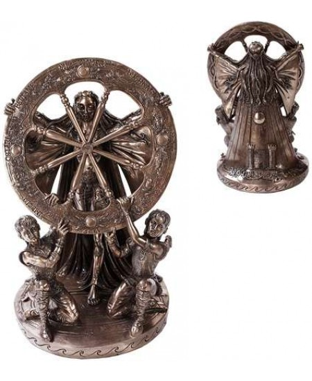 Arianrhod Wheel of the Year Bronze Statue at Mythic Decor,  Dragon Statues, Angels, Myths & Legend Statues & Home Decor