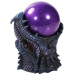 Dragon Head Storm Ball Statue at Mythic Decor,  Dragon Statues, Angels, Myths & Legend Statues & Home Decor