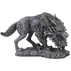 Fenrir Werewolf Statue by Derek W Frost Mythic Decor  Dragon Statues, Angels & Demons, Myths & Legends |Statues & Home Decor