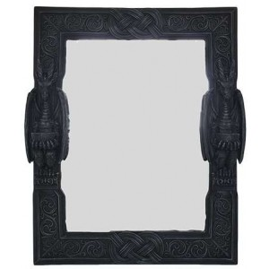 Celtic Dragon Wall Mirror Mythic Decor  Dragon Statues, Angels & Demons, Myths & Legends |Statues & Home Decor