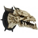 Dragon Skull Wall Plaque at Mythic Decor,  Dragon Statues, Angels, Myths & Legend Statues & Home Decor