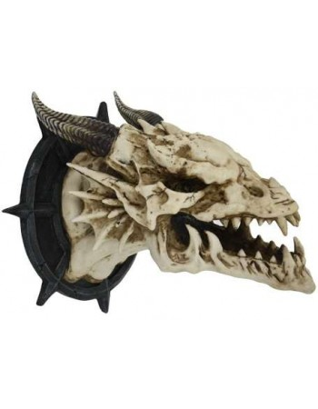 Dragon Skull Wall Plaque Mythic Decor  Dragon Statues, Angels & Demons, Myths & Legends |Statues & Home Decor