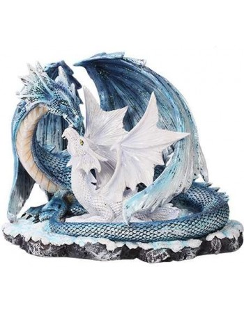 Mother and Baby Dragon Statue Mythic Decor  Dragon Statues, Angels & Demons, Myths & Legends |Statues & Home Decor