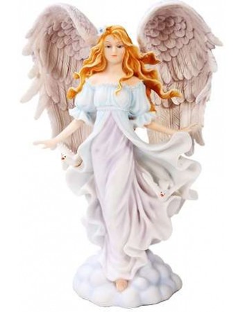 Seraphim Angel of Purity Statue Mythic Decor  Dragon Statues, Angels & Demons, Myths & Legends |Statues & Home Decor