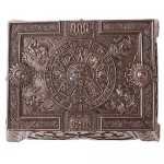 Aztec Bronze Resin Trinket Box