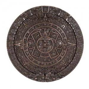 Aztec Solar Calendar Wall Relief Bronze Plaque Mythic Decor  Dragon Statues, Angels & Demons, Myths & Legends |Statues & Home Decor