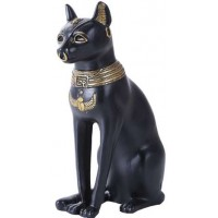 Bastet 8 Inch Egyptian Cat Statue