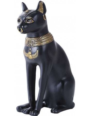 Bastet 8 Inch Egyptian Cat Statue Mythic Decor  Dragon Statues, Angels, Myths & Legend Statues & Home Decor
