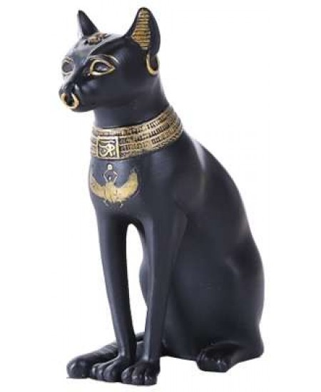 Bastet Small Egyptian Cat Statue at Mythic Decor,  Dragon Statues, Angels, Myths & Legend Statues & Home Decor