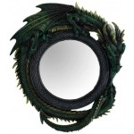 Green Dragon Wall Mirror at Mythic Decor,  Dragon Statues, Angels, Myths & Legend Statues & Home Decor