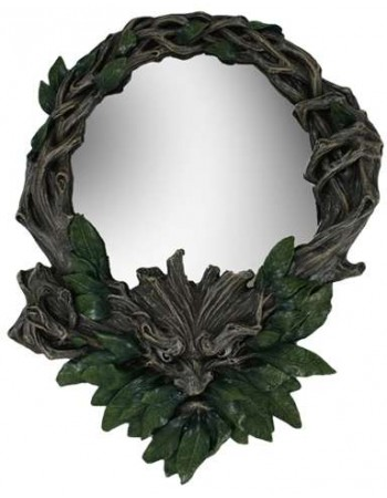 Greenman Wall Mirror Mythic Decor  Dragon Statues, Angels, Myths & Legend Statues & Home Decor