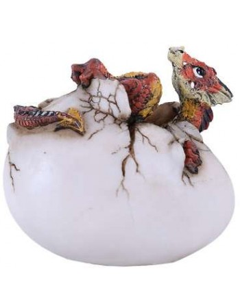 Red Dragon Egg Statue Mythic Decor  Dragon Statues, Angels, Myths & Legend Statues & Home Decor