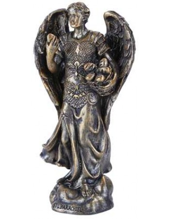 Archangel Barachiel Small Bronze Christian Statue Mythic Decor  Dragon Statues, Angels, Myths & Legend Statues & Home Decor