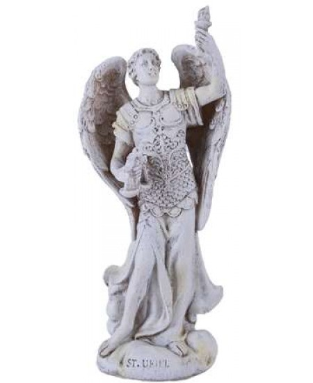 Archangel Uriel Small Christian Statue at Mythic Decor,  Dragon Statues, Angels, Myths & Legend Statues & Home Decor
