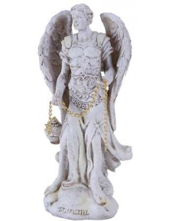 Archangel Saeltiel Small Christian Statue Mythic Decor  Dragon Statues, Angels & Demons, Myths & Legends |Statues & Home Decor