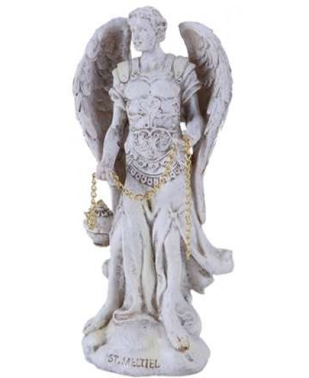 Archangel Saeltiel Small Christian Statue at Mythic Decor,  Dragon Statues, Angels, Myths & Legend Statues & Home Decor