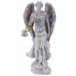 Archangel Raphael Small Christian Statue at Mythic Decor,  Dragon Statues, Angels, Myths & Legend Statues & Home Decor