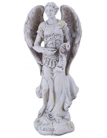 Archangel Gabriel Small Christian Statue Mythic Decor  Dragon Statues, Angels, Myths & Legend Statues & Home Decor