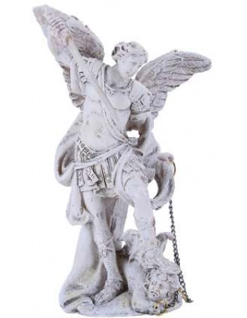 Archangel Michael Small Christian Statue Mythic Decor  Dragon Statues, Angels, Myths & Legend Statues & Home Decor