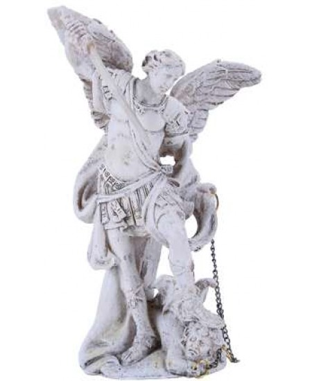 Archangel Michael Small Christian Statue at Mythic Decor,  Dragon Statues, Angels, Myths & Legend Statues & Home Decor