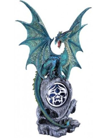 Jade Dragon Light Mythic Decor  Dragon Statues, Angels, Myths & Legend Statues & Home Decor
