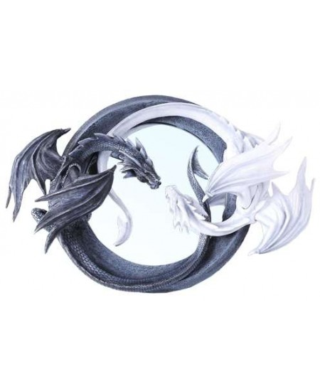 Ying Yang Dragon Wall Mirror at Mythic Decor,  Dragon Statues, Angels, Myths & Legend Statues & Home Decor