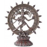 Shiva Nataraja Lord of Dancers Hindu Bronze Resin Statue at Mythic Decor,  Dragon Statues, Angels, Myths & Legend Statues & Home Decor