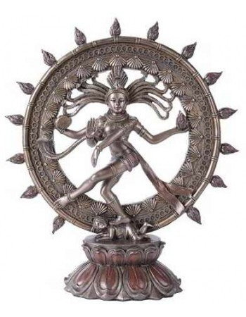 Shiva Nataraja Lord of Dancers Hindu Bronze Resin Statue Mythic Decor  Dragon Statues, Angels & Demons, Myths & Legends |Statues & Home Decor