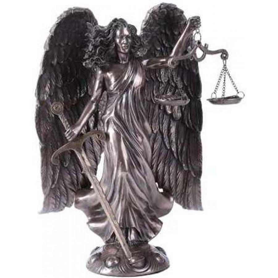 Archangel Raquel Bronze Statue By Derek W Frost At Mythic Decor Dragon Statues Angels