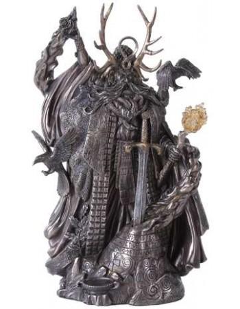 Merlin, Master of Magic Statue with Excalibur