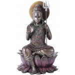 Lord Shiva Seated Bronze Resin Hindu God Statue at Mythic Decor,  Dragon Statues, Angels, Myths & Legend Statues & Home Decor