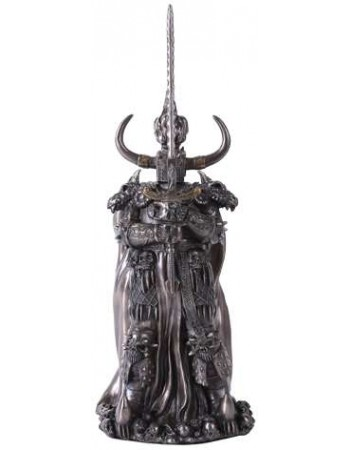 Black Knight Statue Mythic Decor  Dragon Statues, Angels, Myths & Legend Statues & Home Decor