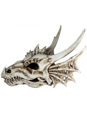 Dragon Skull Statue Mythic Decor  Dragon Statues, Angels & Demons, Myths & Legends |Statues & Home Decor
