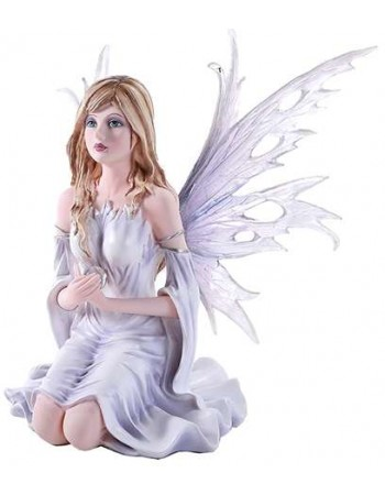 Winter Fairy Statue Mythic Decor  Dragon Statues, Angels, Myths & Legend Statues & Home Decor