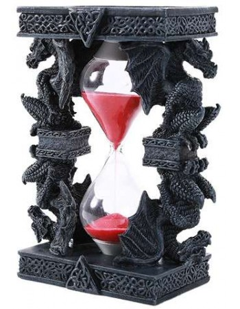 Celtic Dragon Sand Timer Mythic Decor  Dragon Statues, Angels & Demons, Myths & Legends |Statues & Home Decor