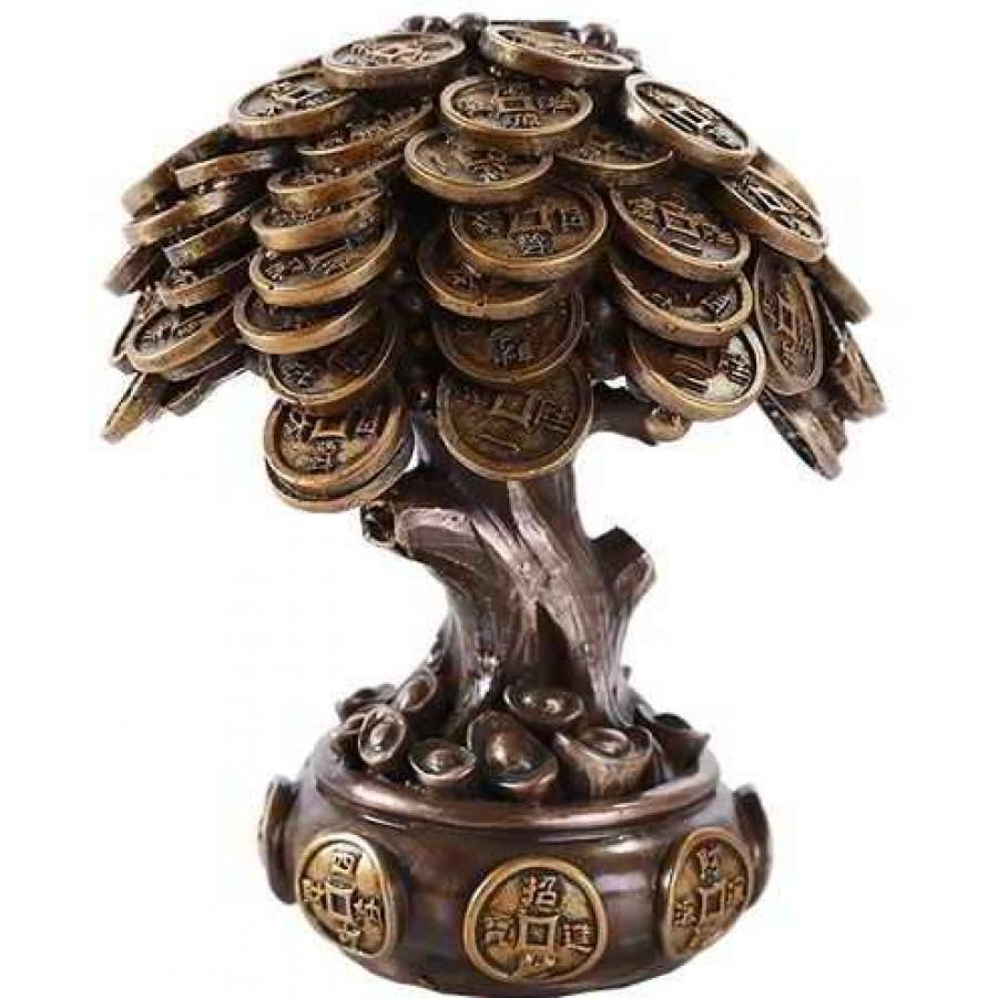 Astonishing Money Tree Auspicious Feng Shui Statue Interior Design Ideas Truasarkarijobsexamcom