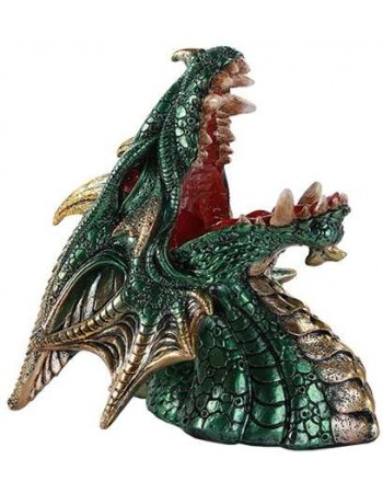 Roaring Dragon Wine Bottle Holder Mythic Decor  Dragon Statues, Angels, Myths & Legend Statues & Home Decor
